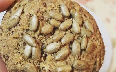 Pan paleo e donuts de espinacas e chocolate, receitas de Patricia «A Cunca» en Xuntos na cociña
