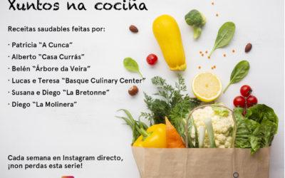 La cocina saludable y el contacto social: retos del confinamiento