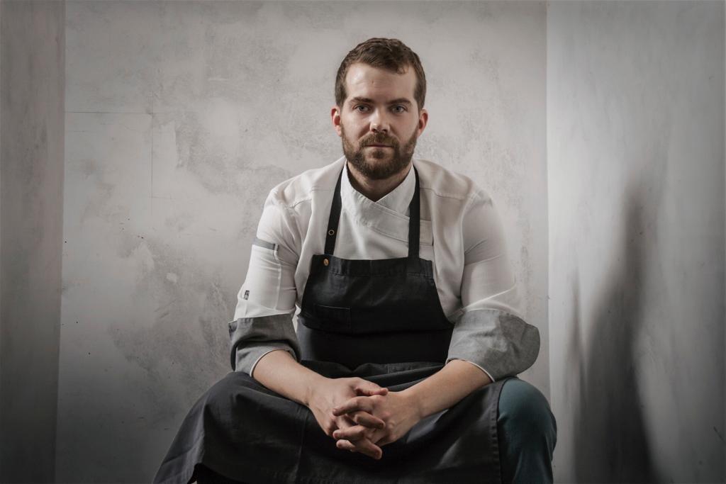 Diego López, chef e copropietario do Restaurante La Molinera en Lalín